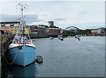 NZ4057 : Noble's Quay on the River Wear in Sunderland by Mat Fascione