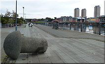 NZ4057 : St Peter's Riverside in Sunderland by Mat Fascione