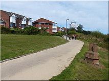 NZ4057 : England Coast Path in Sunderland by Mat Fascione