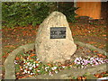 SJ3741 : Overton - La Murette Twinning Memorial by Jeff Tomlinson