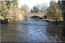 SO3958 : Bridge crossing the River Arrow by Philip Halling
