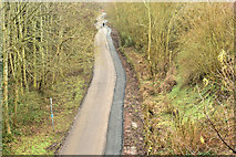 J3773 : The Comber Greenway, North Road, Belfast - February 2018(1) by Albert Bridge