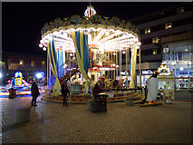 NS4864 : County Square Christmas funfair by Thomas Nugent