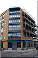 ST5972 : New building at Redcliff Street / Thomas Lane junction by Roger Templeman