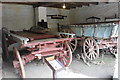 SX4168 : Cotehele Mill - wagon shed by Chris Allen