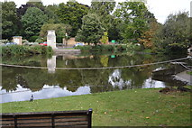 TQ2764 : Carshalton Pond by N Chadwick