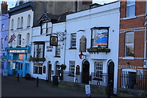 SY6778 : The King's Arms, Trinity Street by John Stephen
