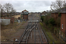 TL4197 : View east from March station footbridge by Robert Eva