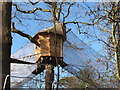 "TQ0083 : Tree house with net walkways, ""Go Ape"" in Black Park by David Hawgood"