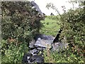 SJ8051 : Fly-tipping in hedge by Jonathan Hutchins