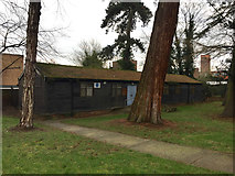TM0458 : Guides' Hut off Crowe Street, Stowmarket by Robin Stott