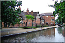 SO8554 : Canalside museum in Worcester by Roger  Kidd