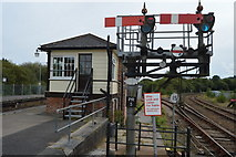 SX0754 : Signals and Par Signalbox by N Chadwick