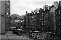 NT2572 : Buccleuch Place by Richard Webb