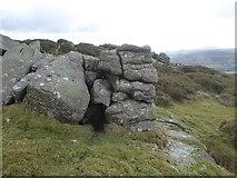 SX7282 : Rocks on Easdon Tor by David Smith