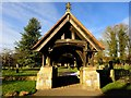 SU1069 : The lych gate to St James' Church by Steve Daniels