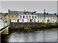 G9378 : Riverside Houses at Donegal by David Dixon