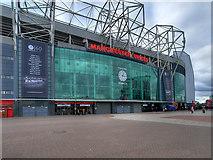 SJ8096 : Old Trafford East Stand by David Dixon