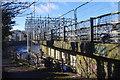 SD4762 : Greyhound Bridge scaffolding by Ian Taylor