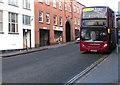 SP0587 : West Midlands double-decker bus, Warstone Lane, Birmingham by Jaggery