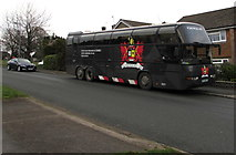 ST3091 : Pontypool RFC team coach, Rowan Way, Malpas, Newport by Jaggery