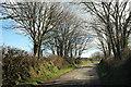 SX0572 : Lane near Menkee by Derek Harper
