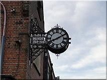 TG2407 : War Memorial clock in Hardy Road, Norwich by Adrian S Pye