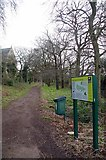 TQ3473 : Green Chain & Sydenham Hill Wood by Glyn Baker