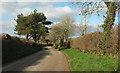 SX0571 : Lane from Hellandbridge by Derek Harper