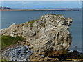 NZ3866 : Rocky shoreline along the coast at South Shields by Mat Fascione