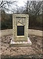SJ7948 : Miners' memorial in Bateswood Country Park by Jonathan Hutchins