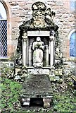 NS3321 : The Auld Kirk of Ayr - Rev. William Adair's Monument by Raibeart MacAoidh