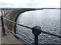 NZ3868 : The South Pier at the mouth of the River Tyne by Mat Fascione