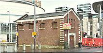 J3474 : Former pumping station, Oxford Street, Belfast (February 2018) by Albert Bridge