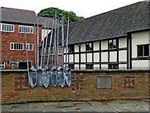 SO8554 : The Commandery in Worcester by Roger  Kidd