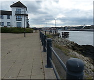 NZ3668 : Promenade along the River Tyne at South Shields by Mat Fascione