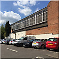 SP3165 : South side of the Real Tennis Court, Bedford Street, Royal Leamington Spa by Robin Stott