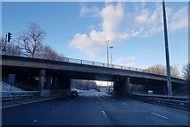 NS5564 : Flyover on M8 near Bellahouston by Alpin Stewart