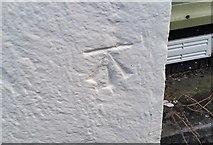 NY3704 : Ordnance Survey Cut Mark by Adrian Dust