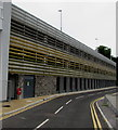 SS9079 : The Rhiw multistorey car park, Bridgend by Jaggery