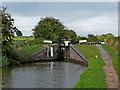SO8958 : Offerton Locks west of Tibberton in Worcestershire by Roger  Kidd