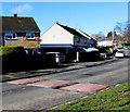 ST2990 : Monnow Way speed bumps, Bettws, Newport by Jaggery