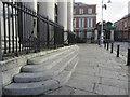 O1534 : City Hall steps, Cork Hill, Dublin by John S Turner