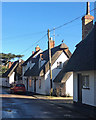 TL4948 : Pampisford High Street in February by John Sutton