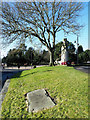 NZ3449 : War memorial at Houghton-Le-Spring by Trevor Littlewood