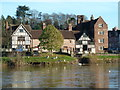 SO7875 : Half-timbered houses, Bewdley by Chris Allen