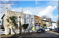 TQ1875 : Kew Foot Road, Richmond by Des Blenkinsopp