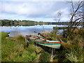 H5775 : Moored boat, Loughmacrory Lough : Week 8