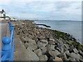NZ5230 : Sea defences and beach at Seaton Carew by Mat Fascione