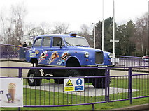 "SP0481 : ""The Big Taste"" Monster Truck Taxi at the entrance to Cadbury World (Bournville) by Fabian Musto"
